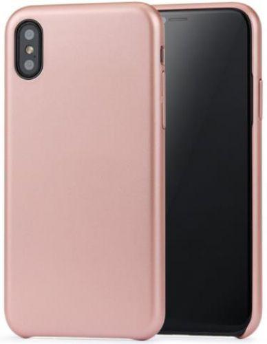 Protectie spate Meleovo Pure Gear II pentru iPhone X (Rose Gold)