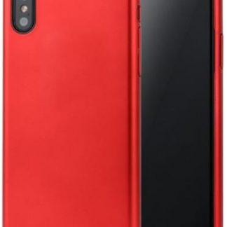 Protectie spate Meleovo Pure Gear II pentru iPhone X (Rosu)