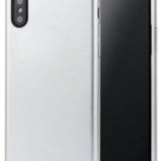 Protectie spate Meleovo Pure Gear II pentru iPhone X (Argintiu)