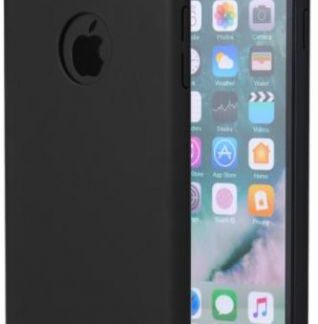 Protectie spate Meleovo 360 Shield pentru iPhone 8 (Negru)
