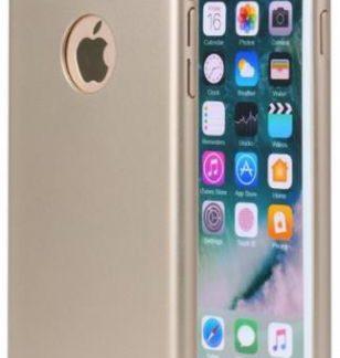 Protectie spate Meleovo 360 Shield pentru iPhone 8 (Auriu)