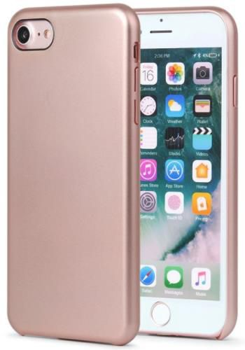 Protectie spate Meleovo Pure Gear II pentru iPhone 8 (Rose Gold)