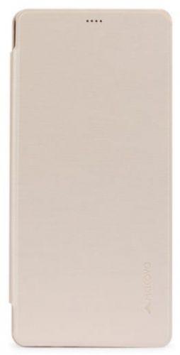 Husa Meleovo Smart Flip pentru Samsung Galaxy Note 8 (Auriu)