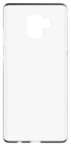 Protectie Spate Lemontti Silicon Ultraslim pentru Samsung Galaxy A8 Plus (2018) (Transparent)