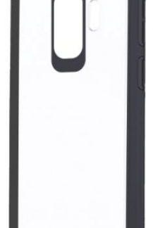 Protectie Spate Devia Pure Style pentru Samsung Galaxy S9 Plus (Transparent/Negru)