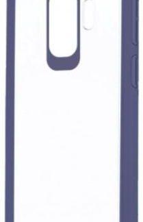 Protectie Spate Devia Pure Style pentru Samsung Galaxy S9 Plus (Transparent/Albastru)