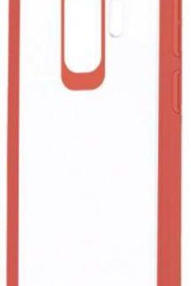 Protectie Spate Devia Pure Style pentru Samsung Galaxy S9 Plus (Transparent/Rosu)