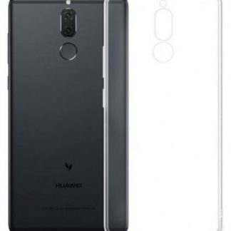 Protectie Spate Devia Silicon Naked Crystal pentru Huawei Mate 10 Lite (Transparent)