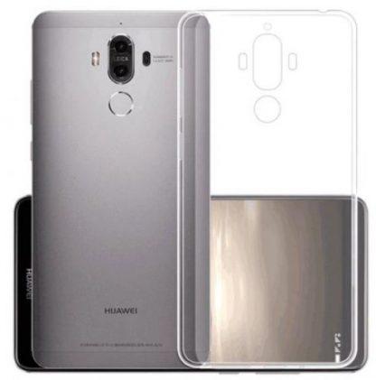 Protectie Spate Devia Silicon Naked Crystal pentru Huawei Mate 10 Pro (Transparent)