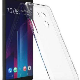 Protectie Spate Lemontti Silicon Ultraslim pentru HTC U11 Plus (Transparent)