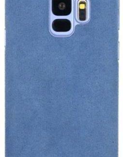 Protectie Spate Just Must Origin Fiber pentru Samsung Galaxy S9 (Albastru)