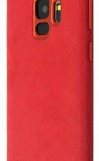 Protectie Spate Just Must Origin Fiber pentru Samsung Galaxy S9 (Rosu)