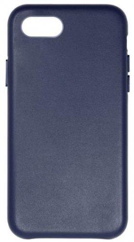 Protectie Spate Just Must Origin Leather pentru Apple iPhone 7/8 (Albastru)