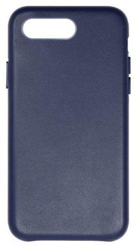 Protectie Spate Just Must Origin Leather pentru Apple iPhone 7 Plus / 8 Plus (Albastru)