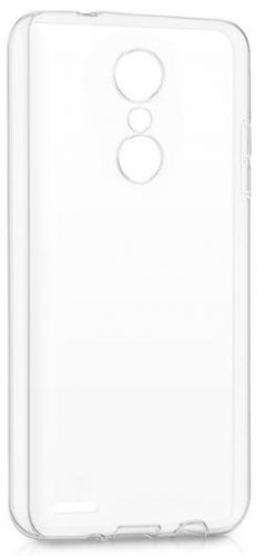 Protectie Spate Lemontti Silicon LMSILK102018T pentru LG K10 2018 (Transparent)