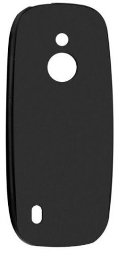Protectie Spate Lemontti Silicon LMSILN33104GN pentru Nokia 3310 4G (Negru)
