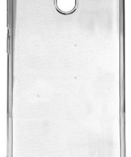 Protectie Spate Lemontti Silicon LMSILNOK1T pentru Nokia 1 (Transparent)
