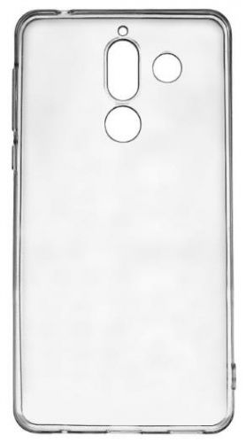 Protectie Spate Lemontti Silicon LMSILNOK7PT pentru Nokia 7 Plus (Transparent)