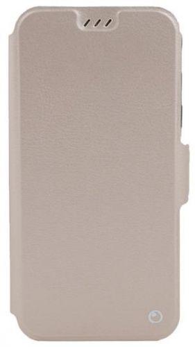 Husa Book Cover Lemontti Elegant TLEHP20PGD pentru Huawei P20 Pro (Auriu)