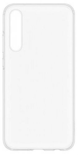 Protectie Spate Devia Silicon Naked Crystal pentru Huawei P20 (Transparent)