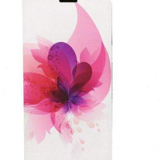 Husa Book Cover Tellur TLL112222 pentru Samsung Galaxy S8 (Alb/Roz)