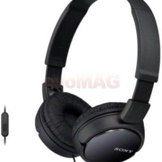 Casti Stereo Sony MDRZX110APB, Jack 3.5mm, Microfon (Negru)