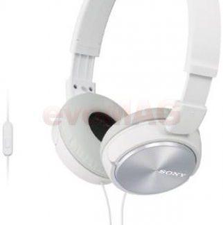Casti Stereo Sony MDRZX310APW, Jack 3.5mm (Alb)
