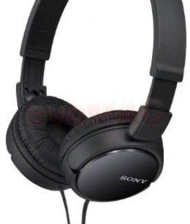 Casti Stereo Sony MDRZX110B, Jack 3.5mm (Negru)