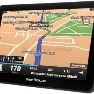 "Sistem de navigatie Serioux UrbanPilot UPQ700, TFT 7"", Procesor 800 MHz, 256MB RAM, 8GB Flash, Microsoft Windows CE 6.0, Fara Harta"
