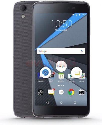 Telefon Mobil BlackBerry DTEK50, Procesor Quad-Core 1.5 GHz / 1.2 GHz, IPS LCD capacitive touchscreen 5.2inch, 3GB RAM, 16GB Flash, 13MP, Wi-Fi, 4G, Android (Negru)
