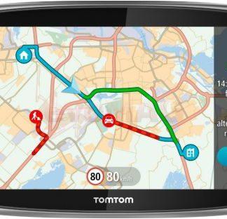 Sistem de navigatie TomTom GO 6100 World, Ecran Tactil 6inch, 8GB Flash, Actualizari pe viata a hartilor, Sim&Data, Harta Full Europa