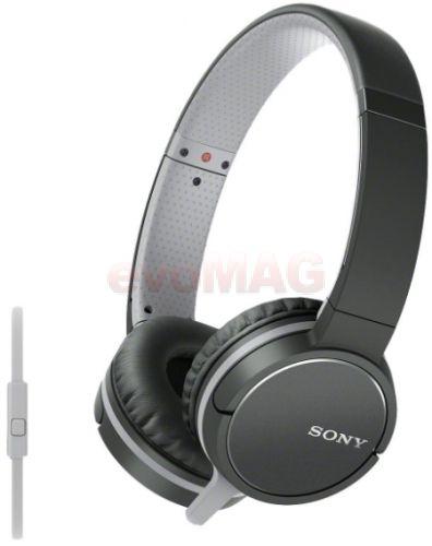 Casti Stereo Sony MDRZX660APB.CE7, Jack 3.5mm, Microfon (Negru)