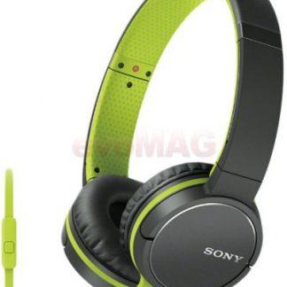 Casti Stereo Sony MDRZX660APG.CE7, Jack 3.5mm, Microfon (Verde)