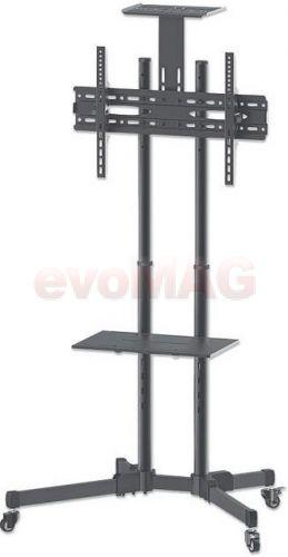 Stand TV Manhattan 461238, 37inch - 70inch, 50 kg (Negru)