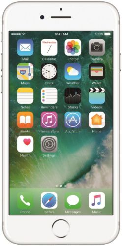Telefon Mobil Apple iPhone 7, Procesor Quad-Core, LED-backlit IPS LCD Capacitive touchscreen 4.7inch, 2GB RAM, 32GB Flash, 12MP, Wi-Fi, 4G, iOS (Argintiu)