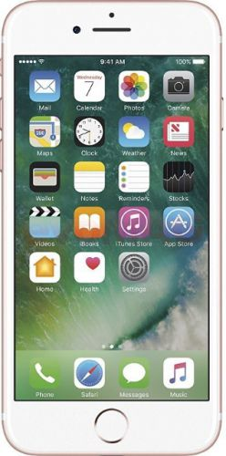 Telefon Mobil Apple iPhone 7, Procesor Quad-Core, LED-backlit IPS LCD Capacitive touchscreen 4.7inch, 2GB RAM, 128GB Flash, 12MP, Wi-Fi, 4G, iOS (Rose Gold)