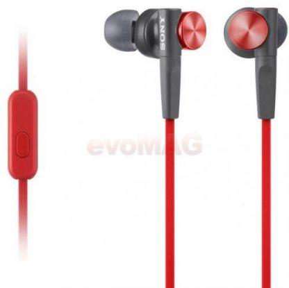 Casti Stereo Sony MDRXB50APR, Control telefon, Extra Bass (Rosu)