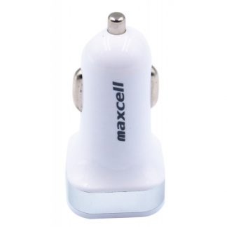 Incarcator Auto Dual Maxcell Smart Silver